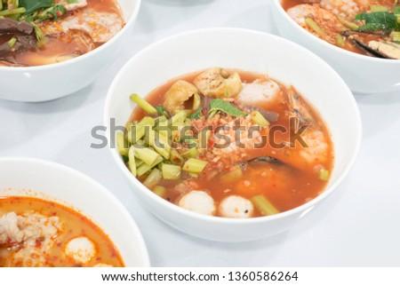Tom Yum Goong,Thai Food #1360586264