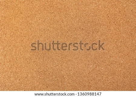 Brown cork board texture background, close up #1360988147