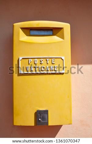 Poste Vaticane mailbox #1361070347
