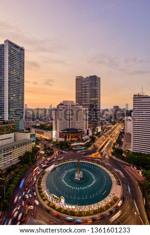 Jakarta officially the Special Capital Region of Jakarta, is the capital of Indonesia. Jakarta is the center of economics, culture and politics of Indonesia #1361601233