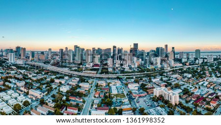 Downtown Miami Skyline #1361998352