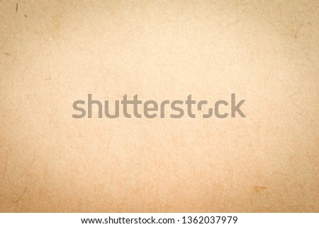 old rough beige paper grunge background texture for design #1362037979
