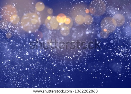 Texture background abstract black and white or silver Glitter and elegant for Christmas. Dust white. Sparkling magical dust particles. Magic concept. Abstract background with bokeh effect. #1362282863