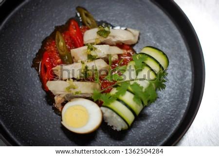 Culinary arts - plating #1362504284