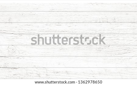 White wood pattern and texture for background. Close-up image. #1362978650