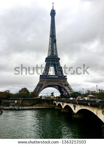 Eiffel tower scene #1363213103