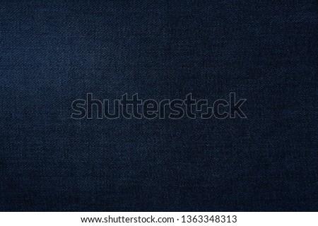 Denim jeans texture. Denim background texture for design. Canvas denim texture. Blue denim that can be used as background. Blue jeans texture for any background. #1363348313