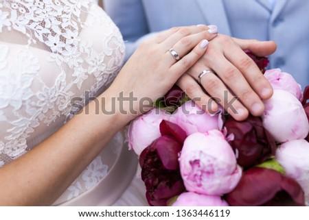 Wedding rings wearing #1363446119