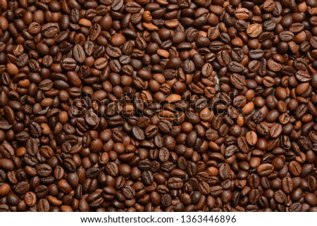 Coffee beans background #1363446896