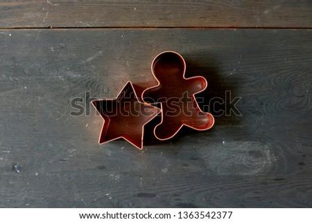 A studio photo of a cookie cutter #1363542377