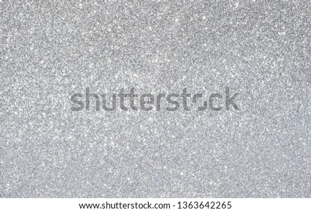 sparkle of silver glitter abstract background #1363642265