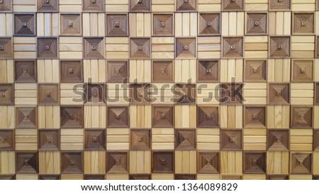 checkerboard pattern wall Royalty-Free Stock Photo #1364089829