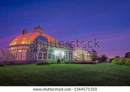 Buffalo and Erie County Botanical Gardens. The Buffalo and Erie County Botanical Gardens are botanical gardens located within South Park in Buffalo, New York, United States.  #1364571350