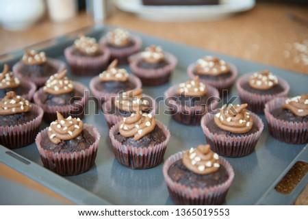 Muffins Cake Chocolate #1365019553
