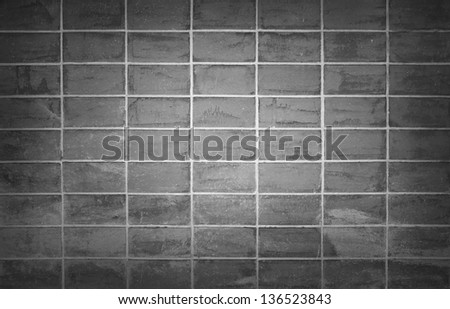 Background of brick wall texture #136523843