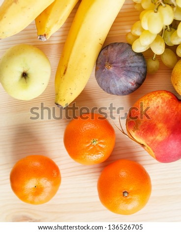 fresh fruits #136526705