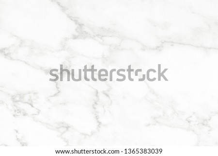 White marble surface for do ceramic counter, white light texture tile gray background marble natural for interior decoration and outside. #1365383039