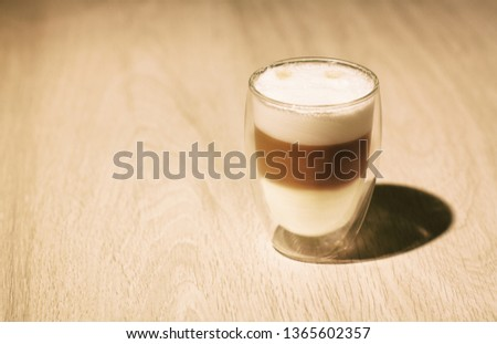 A glass of coffee #1365602357