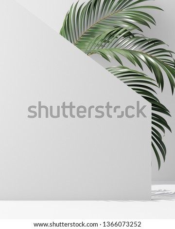 Cover design A4 template set with white background ,eco abstract modern different style for decoration presentation, brochure, catalog, book, magazine etc. 3d illustration #1366073252