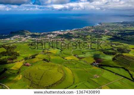 São Miguel - Azoren from above #1367430890
