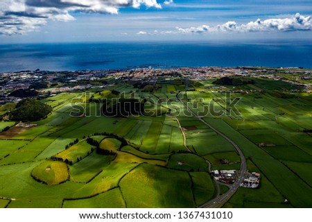 São Miguel - Azoren from above #1367431010