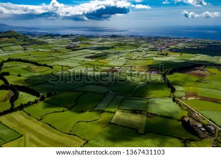 São Miguel - Azoren from above #1367431103