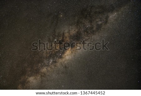 The Milky Way is particularly clear on the African grasslands. #1367445452