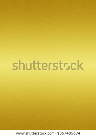 Gold metal plate or yellow texture steel background #1367485694