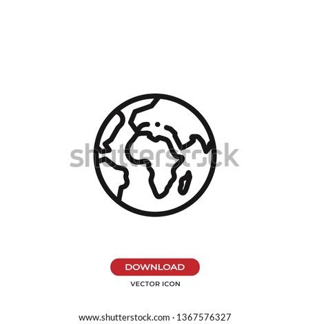 World planet icon