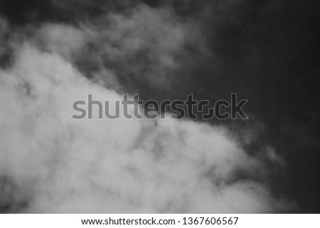 Black & White Clouds #1367606567