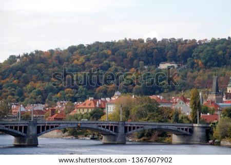 Panoramic view of Prague #1367607902