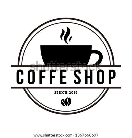 Coffee shop illustration, coffee clip art, coffee words - printable