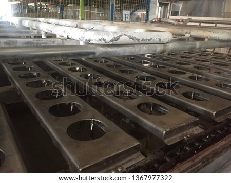 Stainless steel machinery parts #1367977322