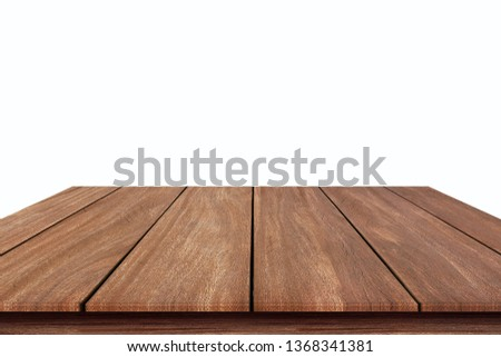 Empty texture wooden background soft blurry, of free space for your products and copy. #1368341381
