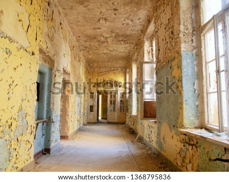 Lost places corridor #1368795836