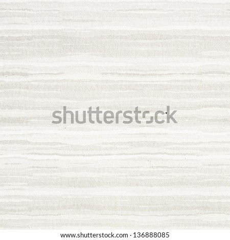 warm watercolor striped paper texture or background