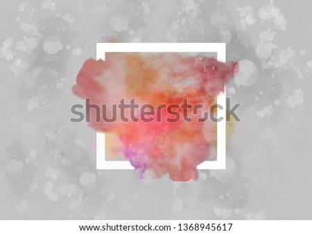 watercolor splash background #1368945617