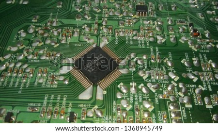 electronic radio components #1368945749