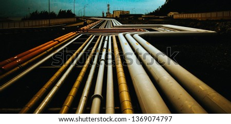 Oil and gas pipelines #1369074797