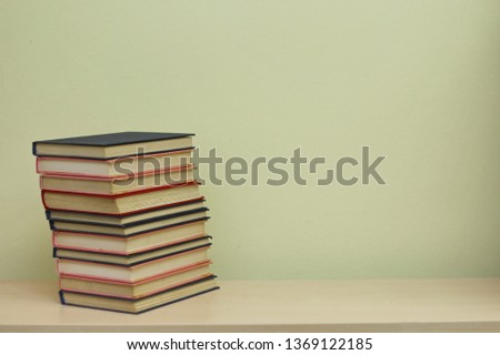 Stack of books #1369122185