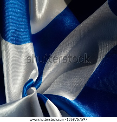 Texture, background, pattern, postcard, silk fabric, blue-white ovals, your projects will not go unnoticed with this fabric, buying this fabric you will be the best #1369757597