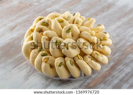 Arabic Sweets Celebration Eid Ramadan #1369976720