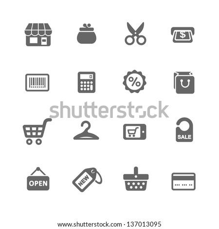 Shopping Icon Set #137013095