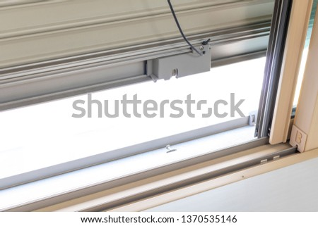 Closed window shutter #1370535146
