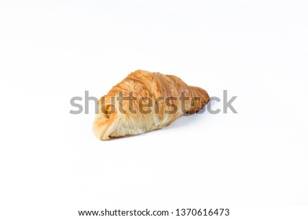 Bread bakery food isolated #1370616473