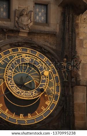 Prague astronomical clock #1370995238