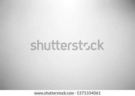 Abstract white gray gradient wall template background. Picture can used web ad.