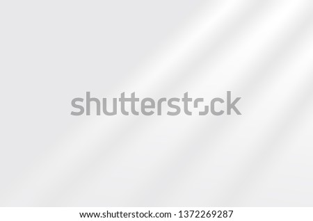 blinds shade on a white wall. White and Black for overlaying a photo or mockup #1372269287