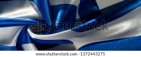 Texture, background, pattern, postcard, silk fabric, blue-white ovals, your projects will not go unnoticed with this fabric, buying this fabric you will be the best #1372443275