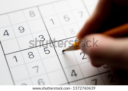 Sudoku puzzle that has not been solved yet #1372760639